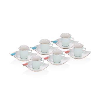 - 6 lı Kahve Fincan Takımı