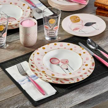 - Bernardo Flamingo 24 Parça Yemek Takımı