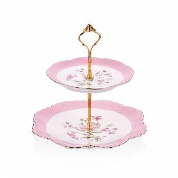 - Bernardo Katlı Kurabiyelik Çiçekli