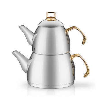 - Gold Saplı Çaydanlık