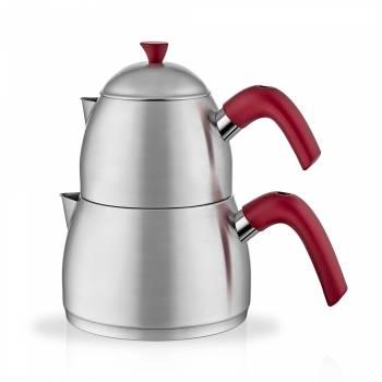- Inox Çaydanlık Takımı