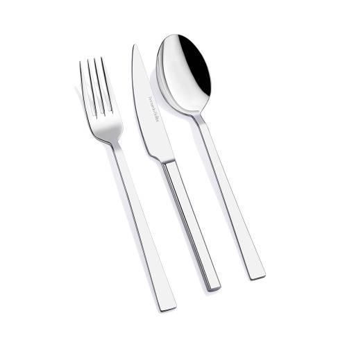 18 Parça 6 Kişilik Yemek Çatal Kaşık Bıçak Takımı