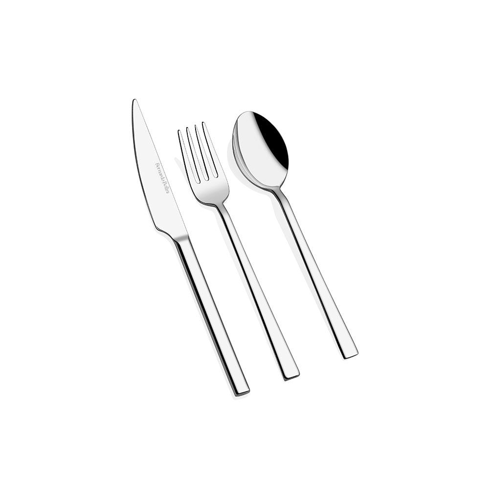 18 Parça Çatal Kaşık Bıçak Tatlı Seti