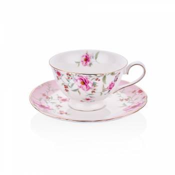 - 2'li Çay Fincan Takımı Çiçekli (1)