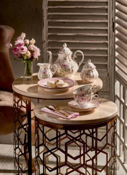 23 Parça Çay Seti Çiçekli - Thumbnail