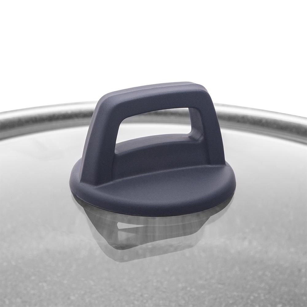 Porto 24 cm Derin Granit Tencere - Gri