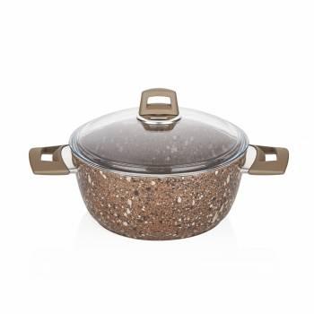- Granit Plus 24 cm Derin Tencere
