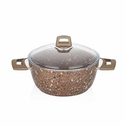 Granit Plus 24 cm Derin Tencere