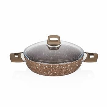 Granit Plus 24 cm Sığ Tencere - Thumbnail