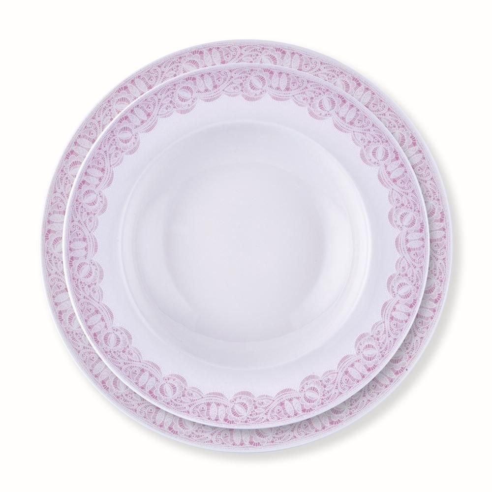 Pink Lace 24 Parça Yemek Takımı
