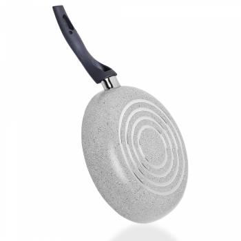 Porto 28 cm Granit Tava - Gri - Thumbnail
