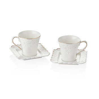 2'li Kahve Fincan Seti - 90 cc - Thumbnail