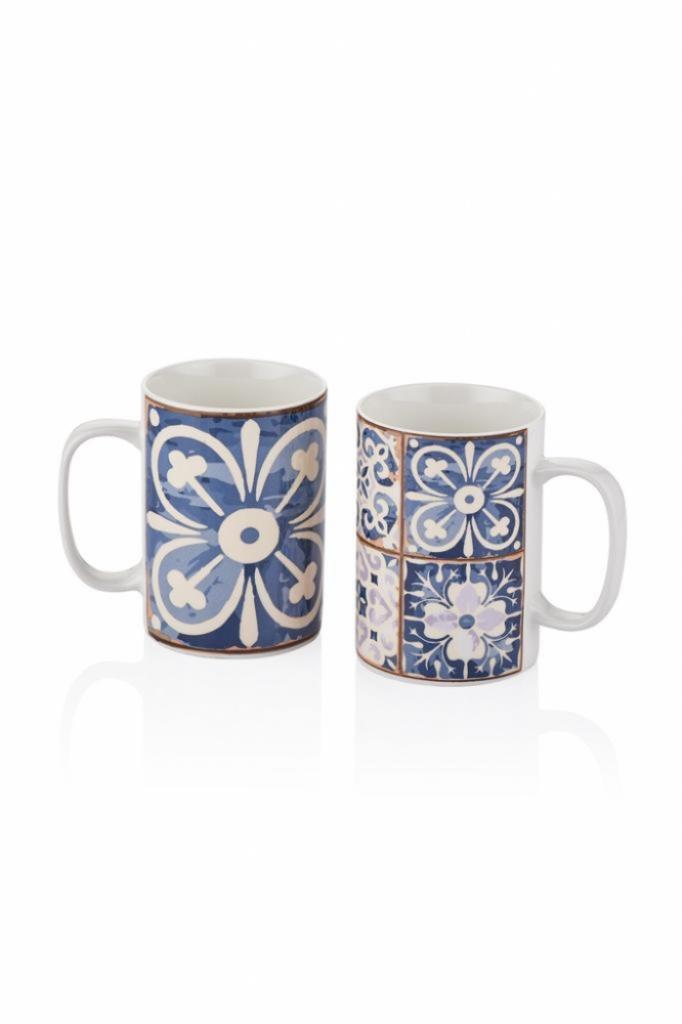 2'Li Mug-Mavi Kupa