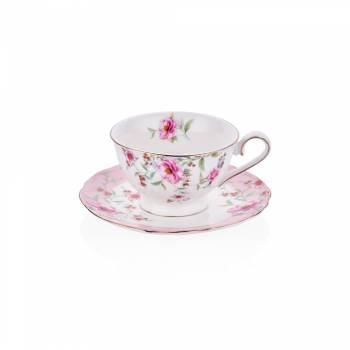 - 4'lü Kahve Fincan Takımı Çiçek (1)