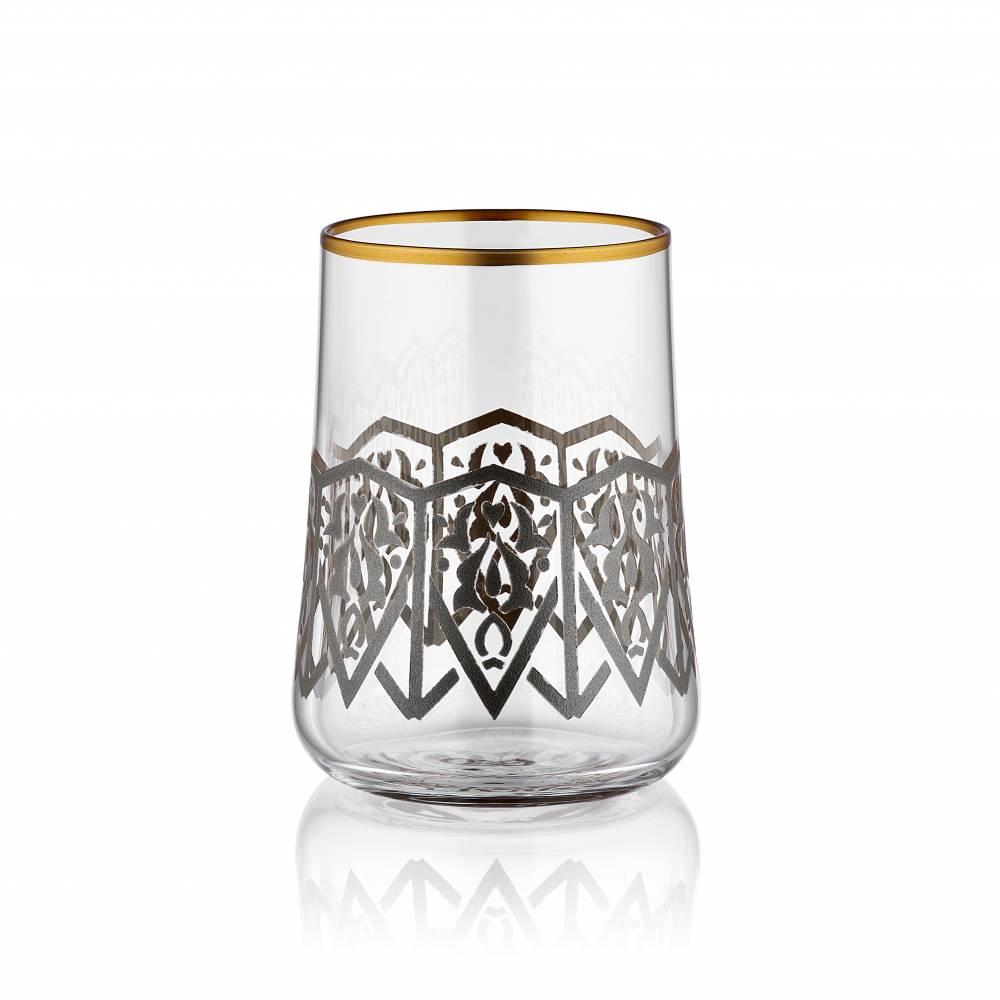 Aheste 6 Parça Kahve Su Bardağı Takımı - Selçuklu