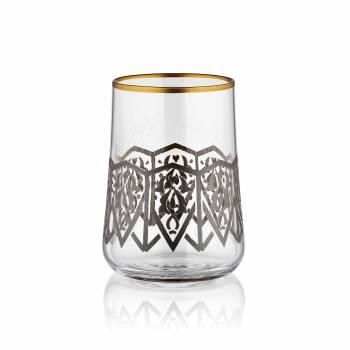 Bernardo - Aheste 6 Parça Kahve Su Bardağı Takımı - Selçuklu