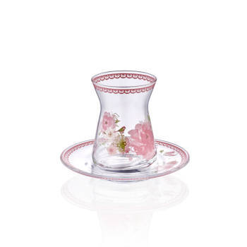 - 6 lı Çay Bardağı - Bahçe