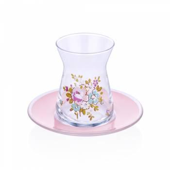 - 6'Lı Çay Bardağı-Lace Rose (1)