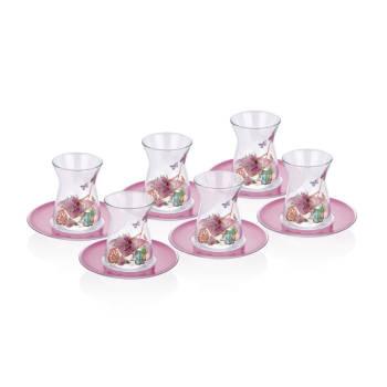 - 6 lı Çay Bardağı - Lavanta