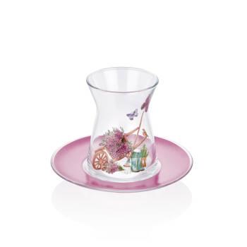 - 6 lı Çay Bardağı - Lavanta (1)