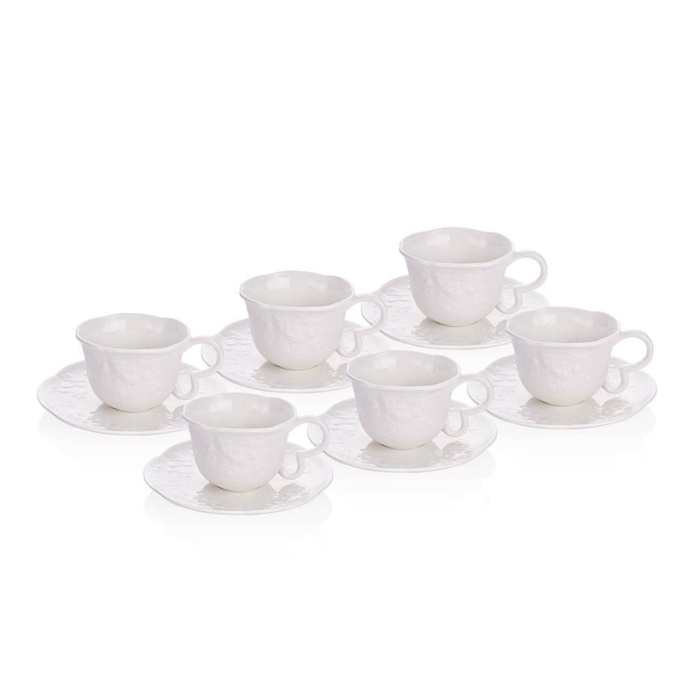Romantic Garden 6'lı Çay Fincanı Takımı