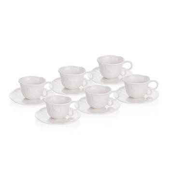- Romantic Garden 6 lı Çay Fincan