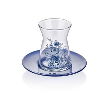 - Vintage Blue 6'lı Çay Bardağı (1)