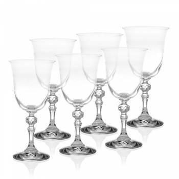- 6 Parça Ayaklı Su Bardağı