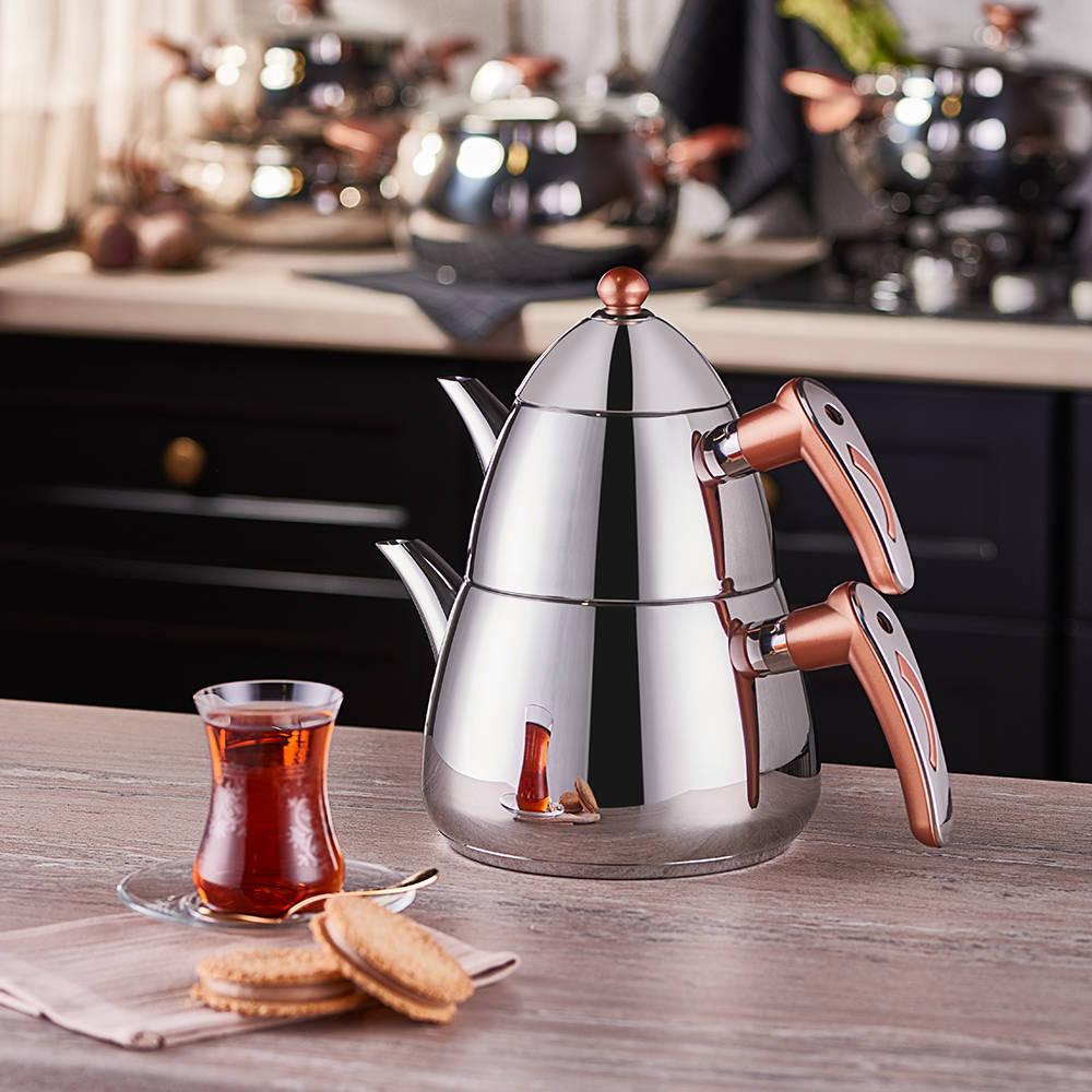 Aeris Çelik Çaydanlık Takımı