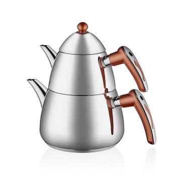 - Aeris Çelik Çaydanlık Takımı