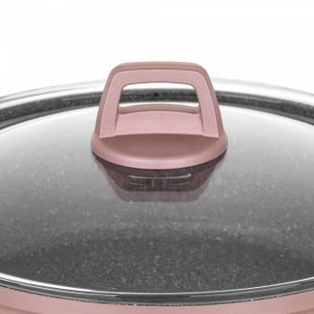 Agata 7 Parça Rose Gold Granit Tencere & Tava Seti - Thumbnail