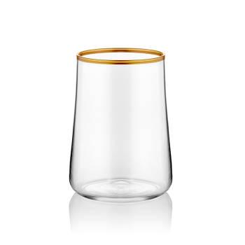 - Aheste 6'lı Kahve Yanı Bardağı- Altın Ya