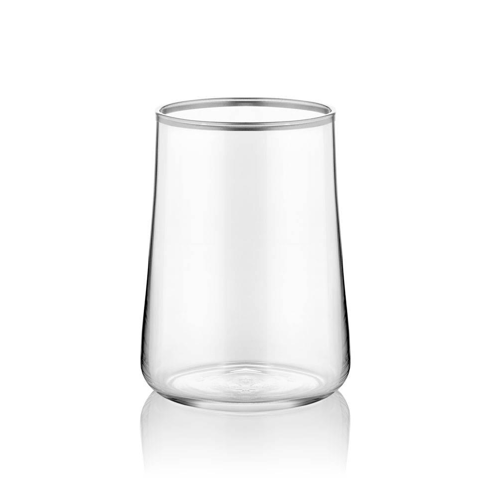 Aheste 6'lı Kahve Yanı Bardağı- Platin