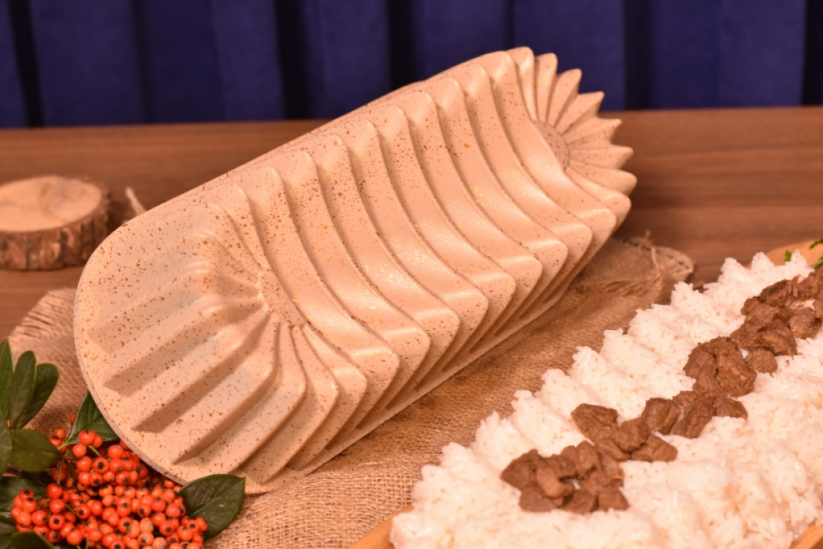 Alcor Baton Kek Kalıbı - Bej Bambum