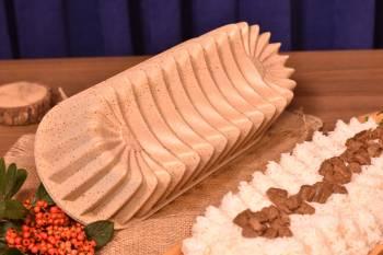 - Alcor Baton Kek Kalıbı - Bej Bambum