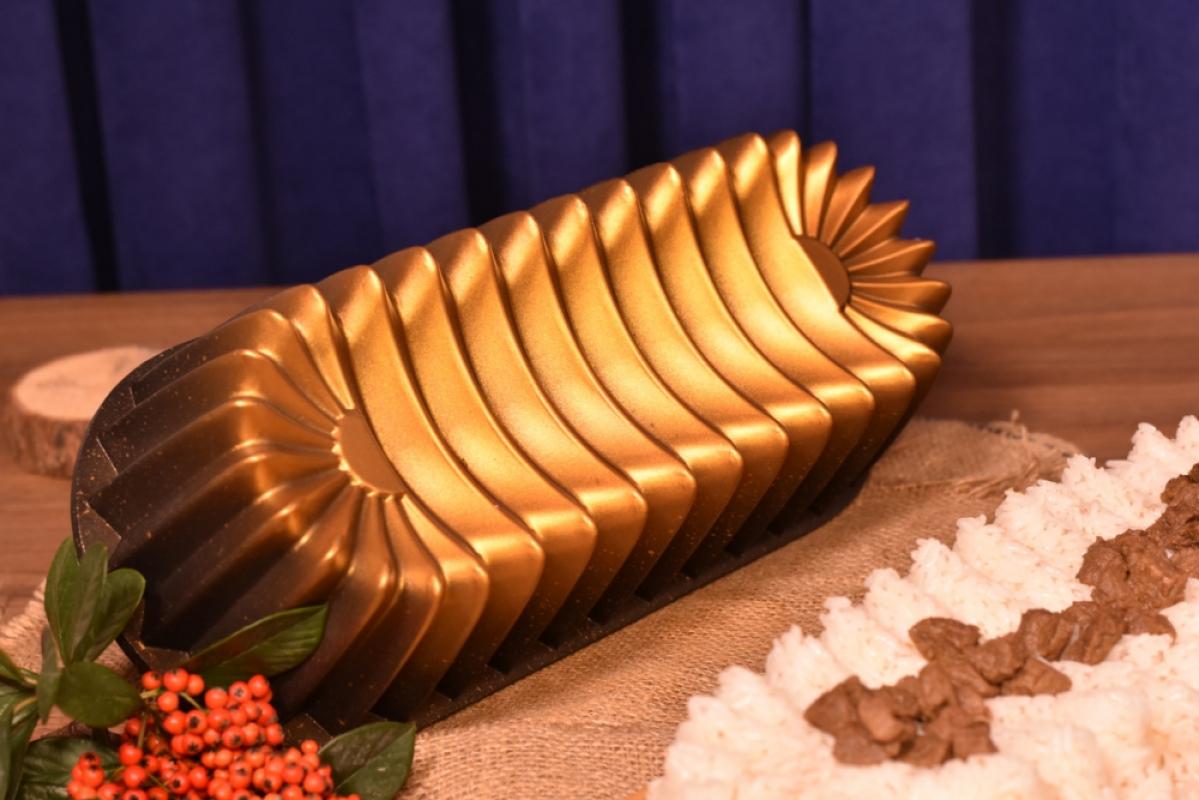 Alcor Baton Kek Kalıbı - Bronz Bambum