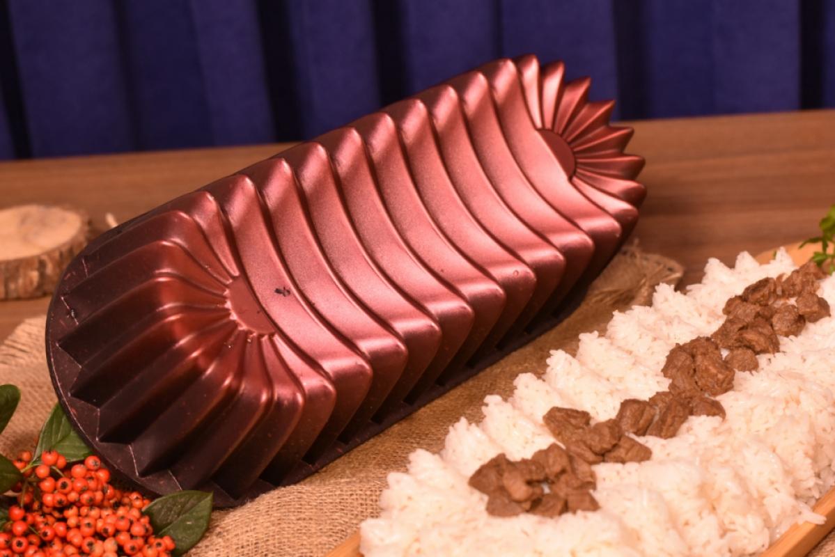 Alcor Baton Kek Kalıbı - Kırmızı Bambum