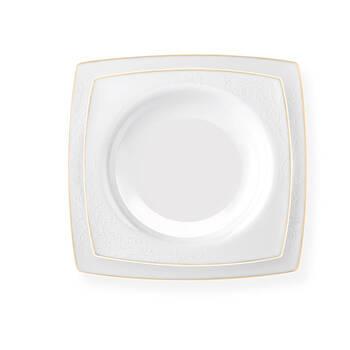 Anemone 12 Kişilik 57 Parça Kare Bone China Yemek Takımı - Thumbnail