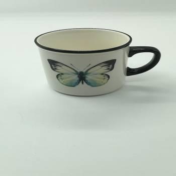 Angel Stonware Kupa - 300 ml - Thumbnail