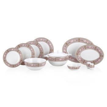 Annabelle 12 Kişilik 70 Parça Royal Bone China Yemek Takımı - Thumbnail