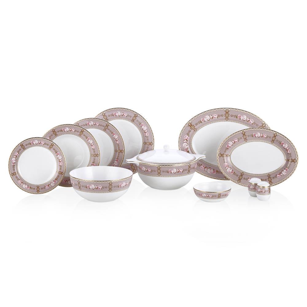 Annabelle 12 Kişilik 70 Parça Royal Bone China Yemek Takımı