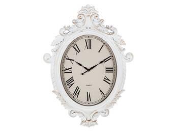 MonDecor - Antik Beyaz Saat - 76x55.5x5.2 cm