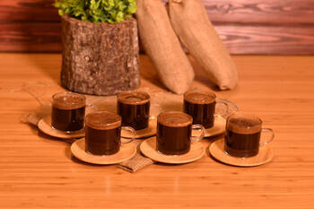 - Aoki 6 Kişilik Çay Fincan Takımı Bambum (1)
