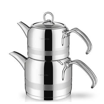 Bernardo - Arles Orta Boy Çaydanlık - Çelik KHR (1)