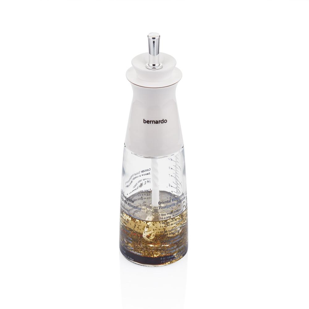 Asami Karıştırıcılı Cam Yağlık - 320 ml