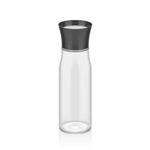 Asami Siyah Kapaklı Cam Sürahi - 850 ml