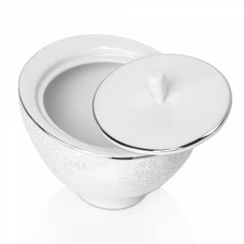 Azimut White 12 Kişilik 29 Parça Royal Bone China Çay Seti - Thumbnail
