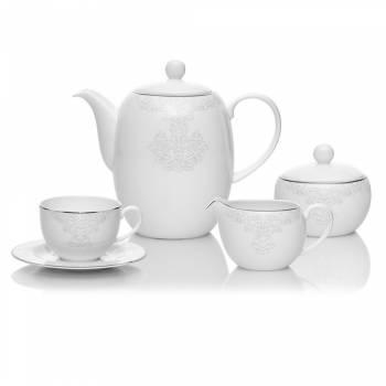 - Azimut White 29 Parça Yuvarlak Çay Seti