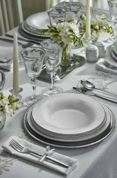 - Azimut White 76 Parça Yemek Takımı