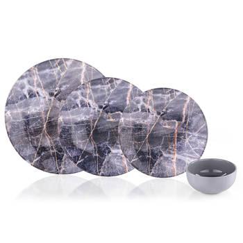 - Barletta 24 Parça 6 Kişilik Stoneware Yemek Takımı